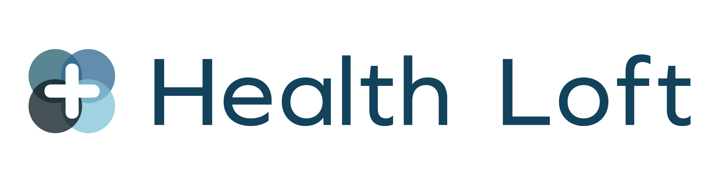 Health Loft Physical Therapy and Nutrition logo in white